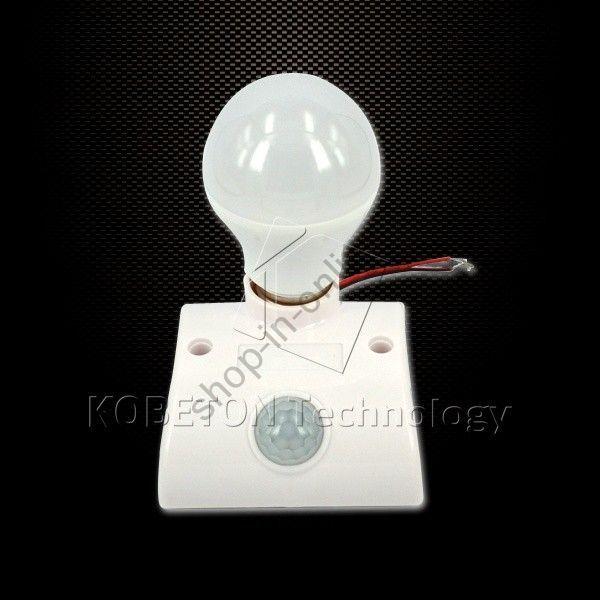 Автоматический выключатель света с ИК датчиком движения